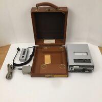 Dictaphone recorder Visible model 850 in original case Great TV movie prop