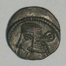 105-147 Ad Parthian Kingdom Silver Drachma Vologases Iii C010 Free U.S Shipping