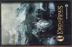 NEW ZEALAND 2003 $9 LORD OF THE RINGS III BOOKLET UHM (ID:69/D21795)