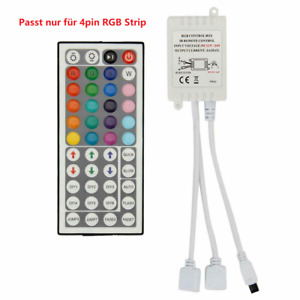 44 Key RGB LED Stripe IR Remote Fernbedienung Steuerung Kontroller Controller