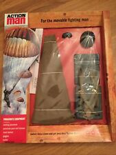 Vintage action man 40th Parachute equipment on carded.