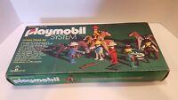 Rare Vintage Playmobil Set 050 (1976) Cowboy Deluxe Set / Incomplete