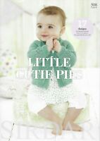 "Sirdar 508 ""Little Cutie Pies"" includes 17 designs from Baby Birth to 7 years"