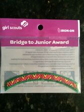 Girl Scout Bridge to Junior Award Patch