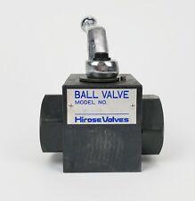 Hirose HBV-X-T04-1432 Ball Valve, New!