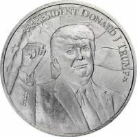 2020 President Donald J Trump 1oz .9999 Silver Bullion Round