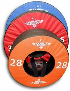 Exxact Sports Tackle Wheel for Football Practice and Tackle Training w/Straps