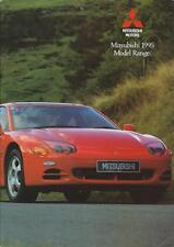 Mitsubishi 1995 Range UK Brochure includes Lancer 3000GT Galant Shogun 24 Pages