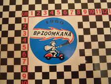 BP Zoomkana 1960 Scooter Girl Sticker- Adesivo Autocollant Aufkleber Mods