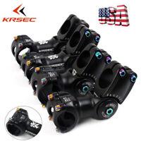 KRSEC Bar Stem 25.4/31.8*90-110mm MTB Road Bike Adjust Stem 28.6mm Threadless US