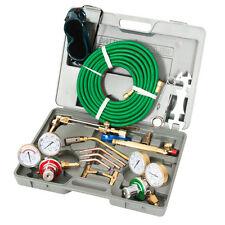Oxygen Acetylene Type Gas Welding & Cutting Set Oxy Torch Welder w Carrying Case