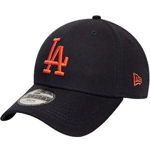 New Era Unisex Kids Los Angeles Dodgers MLB League 9FORTY Baseball Cap - Black