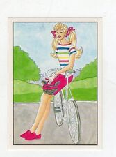 figurina - BARBIE 1989 PANINI - NUMERO 96
