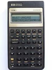 Calculator HP17b. Work.