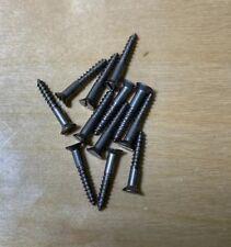 """WS412 Wood Screws Flat Head Slotted Steel #4 X 1//2/"""""""