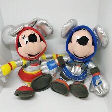Vintage Astronaut Minnie And Mickey Mouse Plush Toys. Walt Disney.