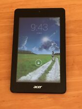 """Acer Iconia One 8"""" Wifi Android Tablet /Camera - Purple - Used/ Good Condition."""