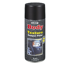 HB Body Texture Bumper Paint Black Spraycan, Aerosol 400ml, Automotive Paint