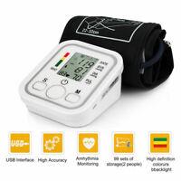 Automatic Wrist Blood Pressure Monitor BP Cuff Gauge Heart Rate Machine Tester#