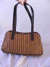 Fab Danier Leather Snakeskin Eelskin Print Leather Hand Bag Purse ~ Lightly Used