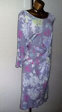 M&S DRESS SIZE 18 STRETCHY JERSEY FITTED BODY CON WIGGLE STYLE MARKS & SPENCERS