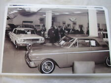 1963 FORD GALAXE FAIRLANE IN DEALERS SHOWROOM  11 X 17  PHOTO /  PICTURE