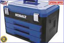 Kobalt 232-PCS Standard SAE and Metric Polished Chrome Mechanics Tool Sets NEW