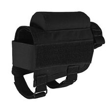 Tactical Buttstock Cheek Rest with Ammo Carrier Case Holder for .300 .308 Winmag