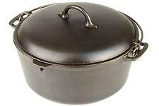Vintage Favorite No 8 Cast Iron Dutch Oven in Excellent Restored Condition