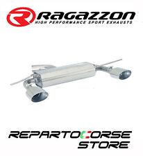 RAGAZZON SCARICO POSTERIORE SDOPPIATO INOX TERMINALI OVALI 2/135x90MM 50.0095.12