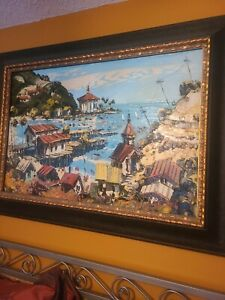 Paul Blaine Henrie Oil Painting from the 60's