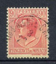 Monaco 1927 SG#96, 90c Carmine/Pale Yellow Used #A46277
