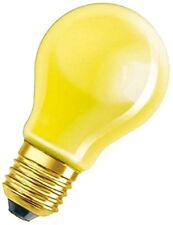 Bombillas incandescentes de interior amarillos