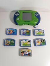 LeapFrog Leapster 2 Learning Game System Green 21155 + Games