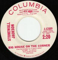 1963 Promo Country 45 Stonewall Jackson B.J. The D.J. Columbia