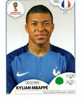 PANINI FIFA WORLD CUP RUSSIA 2018 FIGURINA N. 209 MBAPPE (FRANCE) ROOKIE