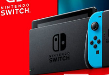 Brand new Nintendo Switch CONSOLE- TABLET ONLY V2 Upgraded Battery & Screen