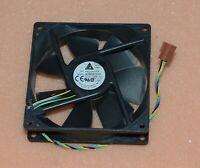 Delta AUB0912VH 9cm 90mm HP P/N 372651-001 9225 DC 12V 0.60A 4-pin pwm fan