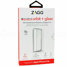 Genuine ZAGG Orbit Bumper Frame Case+Glass Screen Protector for iPhone 6 6S 4.7""