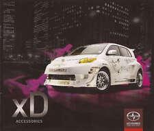 2009 09 Scion XD  Accessories  Sales brochure MINT
