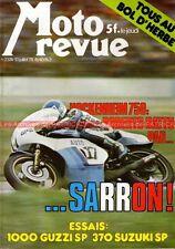 MOTO REVUE 2374 GUZZI 1000 SP 370 SUZUKI LAVERDA 1000 6 cylindres DKW 1978