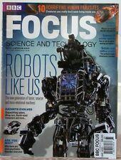 FOCUS Magazine 10 HORRIFYING Human PARASITES Robots Like Us GADGETS Evolved