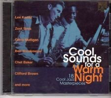 (BK34) Jazz Masterpieces, Cool Sounds for a Wa- 1995 CD