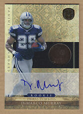11 2011 Panini Gold Standard 14K DeMarco Murray Auto RC Autograph Rookie Card /6
