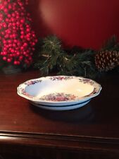1  Bowl Wedgwood Etruria FLORAL Scalloped Bowl