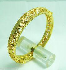 22K 23K 24K Thai Style Thai Baht Yellow Gold GP Bracelet Bangle