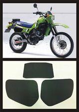 Tabelle Kawasaki KLR 600 dal1984 - adesivi/adhesives/stickers/decal