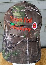 Town Hall Archery Camo Snapback Baseball Cap Hat Outdoors Hunting