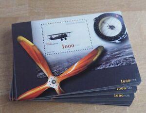 2002 Guinea-Bissau; 100 Blocks Fliegerei, Bl. 378, postfrisch/MNH, ME 650,-