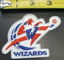 "Throwback Washington Wizards Basketball NBA Team Logo Patch Sport Iron Sew 3.5"""